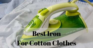 Best iron for cotton clothes