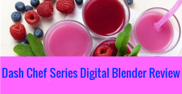 Dash Chef Series Digital Blender Review