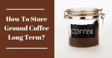 How to store ground coffee long term