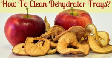 How to clean dehydrator tray