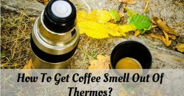 How to get coffee smell out of thermos