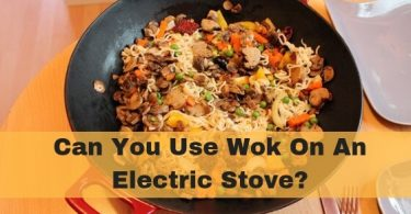 Can you use wok on an electric stove