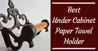 Best under cabinet paper towel holder