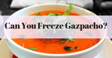 Can you freeze Gazpacho