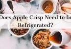 Does apple crisp need to be refrigerated