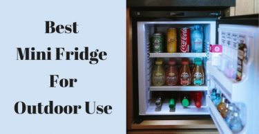 Best mini fridge for outdoor