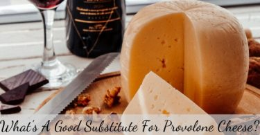 Provolone cheese substitute