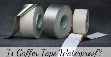 Is gaffer tape waterproof