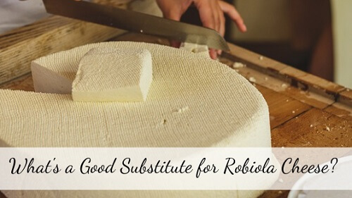 Robiola cheese substitute