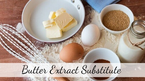 butter extract substitute