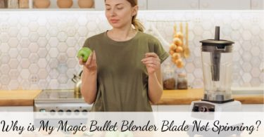 Magic Bullet blade not spinning