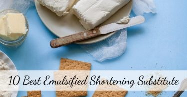 Emulsified Shortening substitute