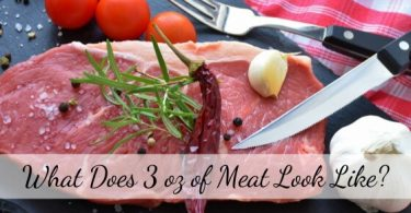 what does 3oz meat look like
