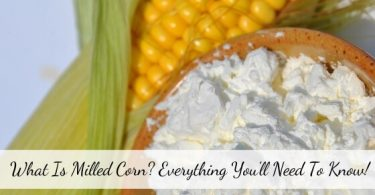 What is Milled Corn